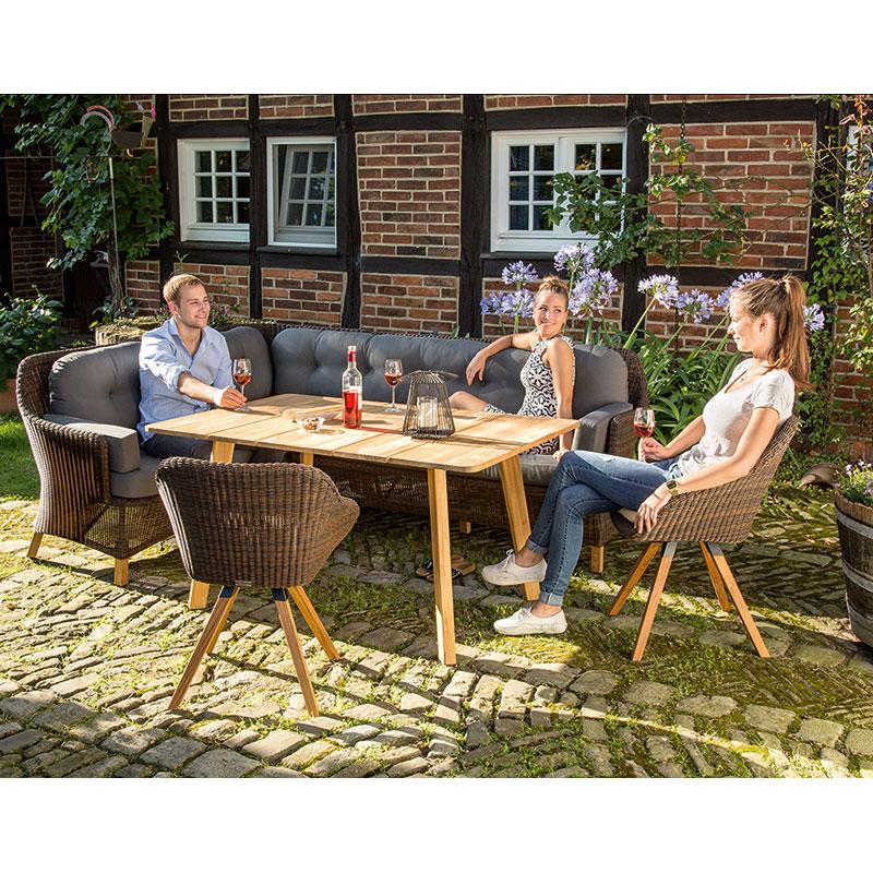 niehoff garden dining loungeset nizza m belgarten. Black Bedroom Furniture Sets. Home Design Ideas