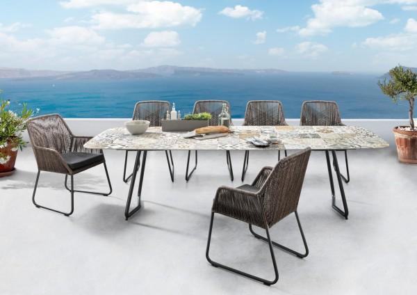 Sit Mobilia Set Tisch Jura mit Sessel Allanis