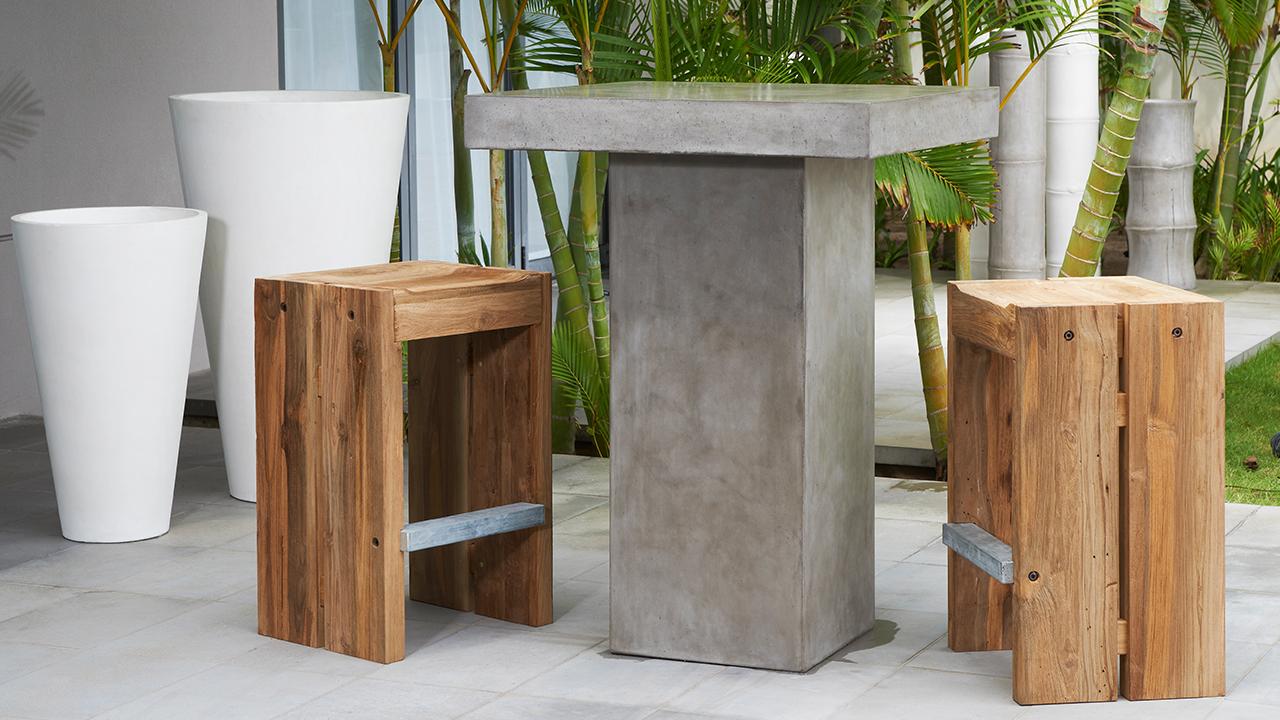 MöbelGarten | Im Trend: Gartenmöbel aus Beton